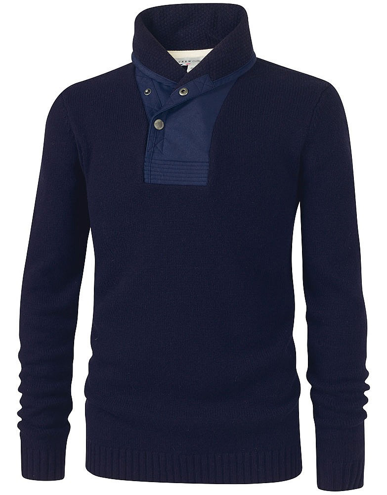 Crew Clothing Coastal Shawl Neck