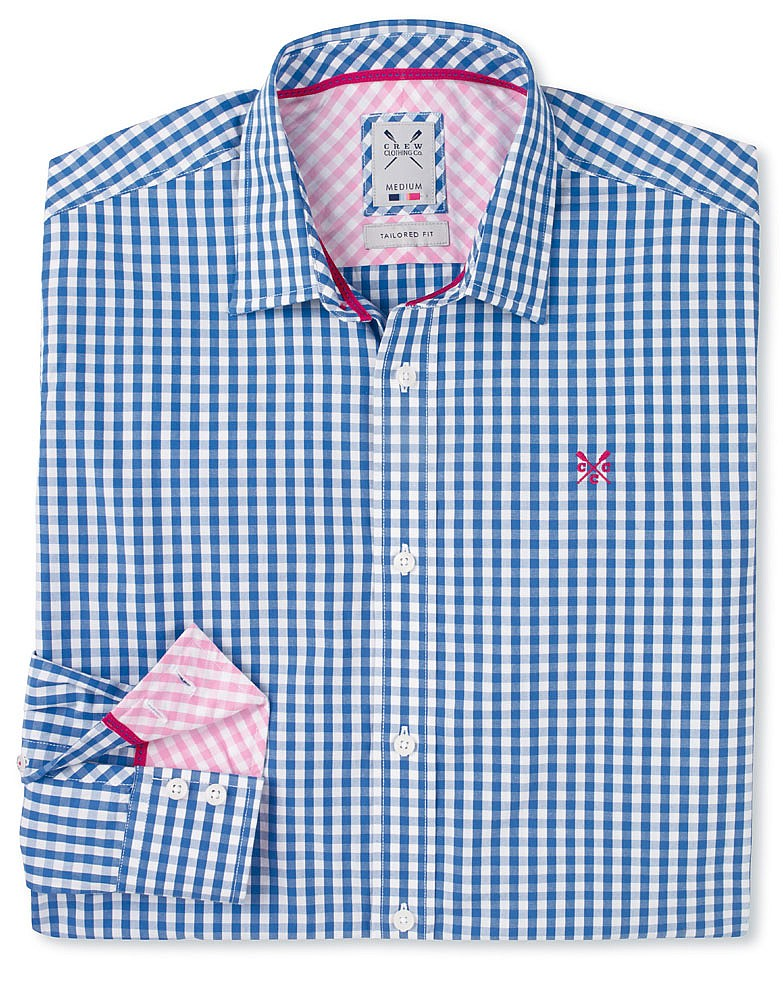 Crew Clothing Tailored Gingham