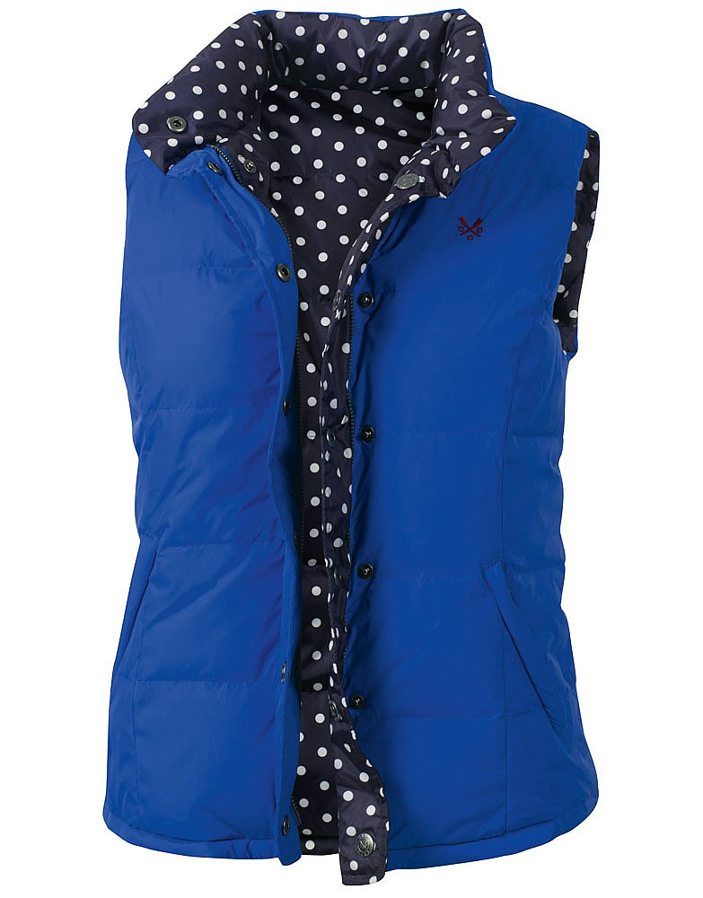 Crew Clothing Reversible Gilet
