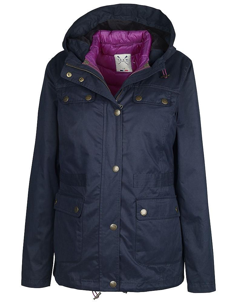 Geaca casual Crew Clothing Morgan 3 In 1 Jacket