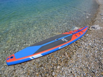 SUP Race Board VIAMARE 380 -RED/BLU