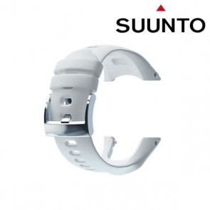 CUREA SUUNTO CORE CRUSH WHITE FLAT SILICONE STRAP