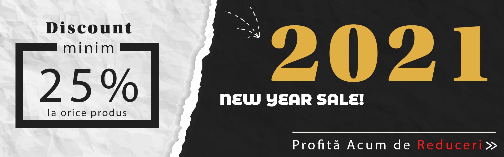 Reducere 25% Ianuarie 2021